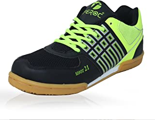 Feroc Shot 21 Unisex Badminton, Tennis,Vollyball Shoes