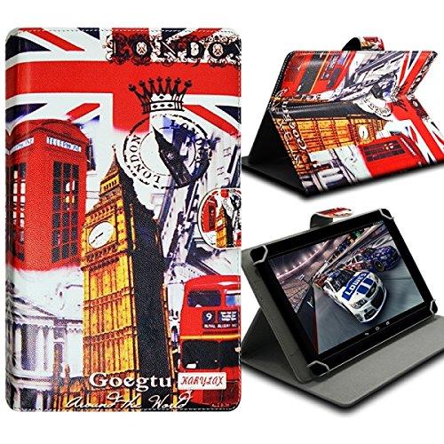 Seluxion-Funda universal con tapa y soporte, diseño de ZA03 para tablet Lenovo Tab 2 ha 8-50, S8, Tab 2 y Yoga Tab 3 8,0