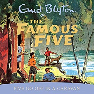 Famous Five: Five Go Off In A Caravan     Book 5              By:                                                                                                                                 Enid Blyton                               Narrated by:                                                                                                                                 Jan Francis                      Length: 5 hrs     32 ratings     Overall 4.7