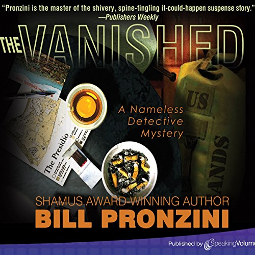 The Vanished audiobook cover art