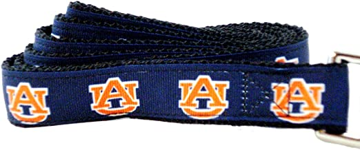 All Star Dogs NCAA Auburn Tigers Dog Leash (Team Color, Small)