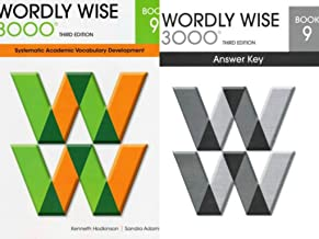 NEW Wordly Wise 3000® 3rd Edition Grade 9 SET -- Student Book 9 and Answer Key 9 (Systematic Academic Vocabulary Development)