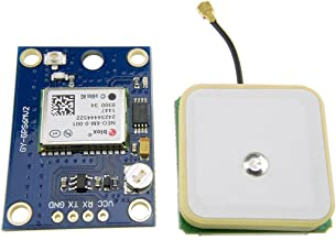 HiLetgo GY-NEO6MV2 NEO-6M GPS Flight Controller Module 3V-5V with Super Strong Ceramic Antenna for Arduino EEPROM APM 2.5