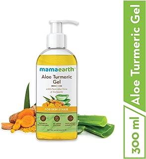 Mamaearth Aloe Vera Gel From 100% Pure Aloe Vera For Face, Skin & Hair with Turmeric & Vitamin E (300 ML)
