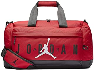 finest selection 3b329 d7ce7 Nike Air Jordan Velocity Duffle Bag (One Size, Gym Red)
