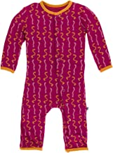 Kickee Pants Baby Girls' Printed Coveralls
