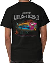 Lures Orange Tongue Min-O-Spinner Fish T Shirt Tee