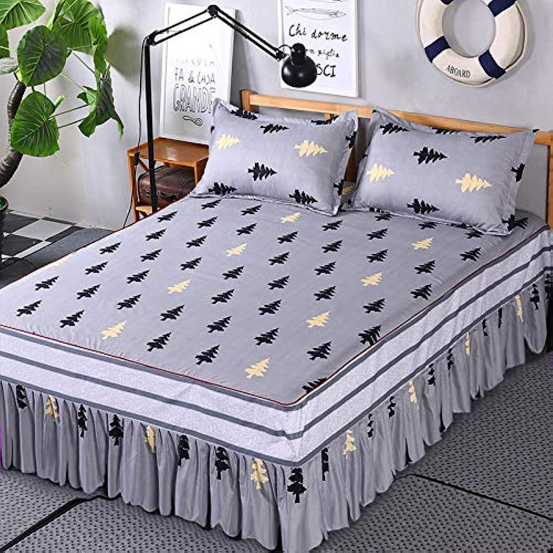 WHoIppRmOrella Couverture de lit en Patchwork avec imprimé Floral, B, Full
