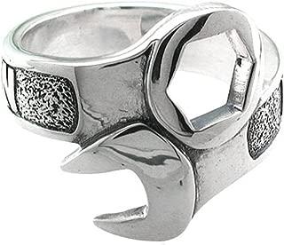 Harley-Davidson .925 Silver Wrench Mens Ring