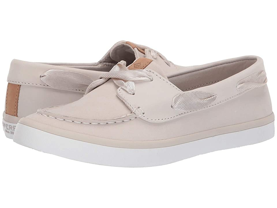 Sperry Sailor Boat Leather (Ivory) Women