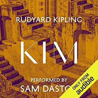 Kim audiobook cover art
