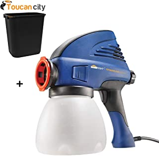 Toucan City 7 Gal Trash can and HomeRight Titanium Series Medium Duty Airless Paint Sprayer C800916.M