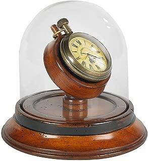 Authentic Models Victorian Dome Watch in Dark Honey