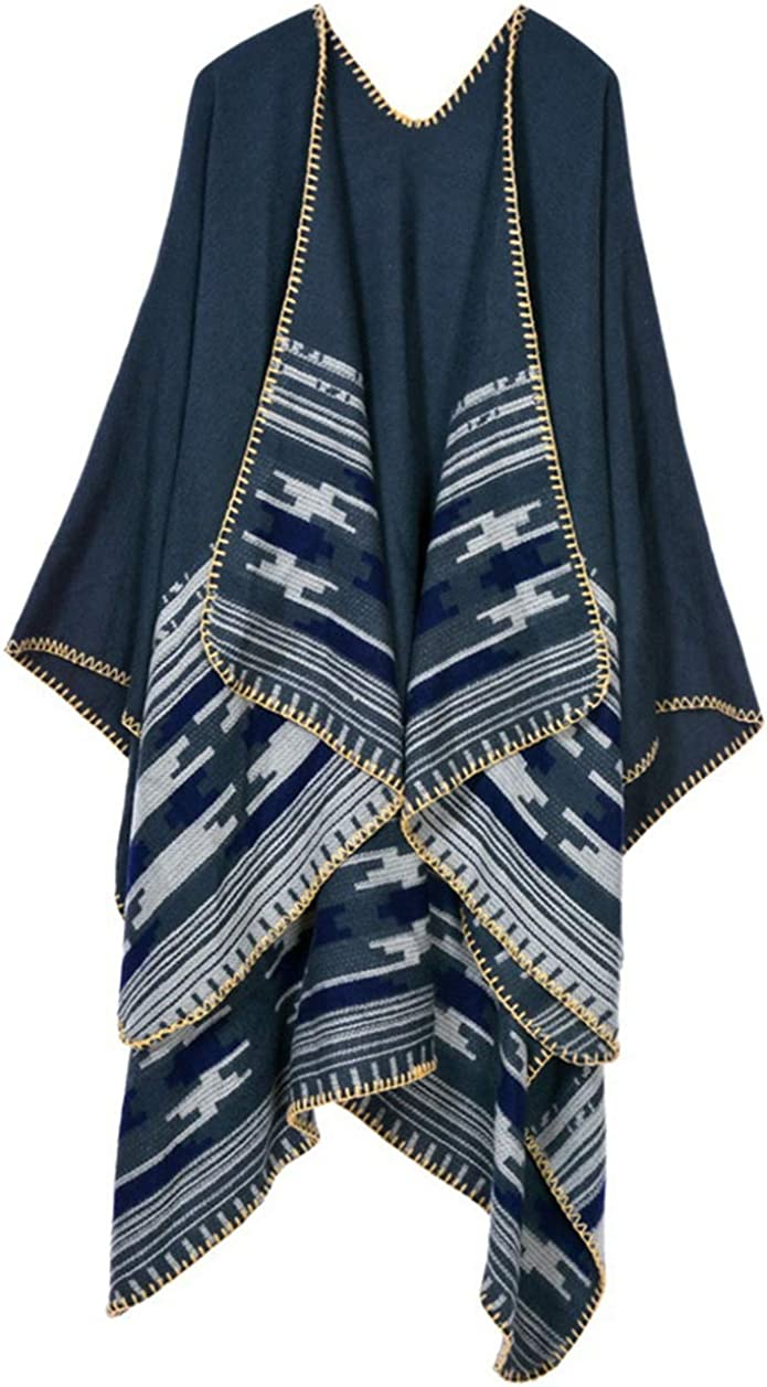 Idea Houses Warm Shawl Scarf Thickened Long Cloak Air Conditioning Shawl