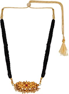 Archi Collection Ethnic Traditional Thushi Mangalsutra Pendant Necklace Jewellery
