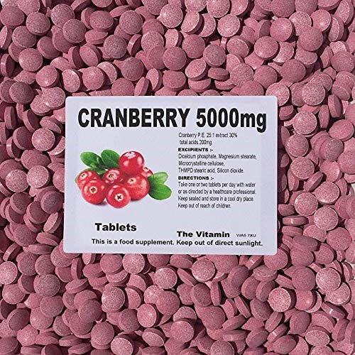 The Vitamin Cranberry 5000mg (60 Tablets - Bagged)