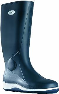 Work Boots Soul Rebel Transat - Navy Blue Navy Blue & White-Soled - Made in France