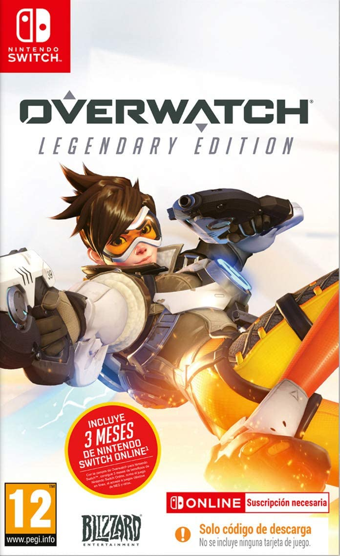 Overwatch - Legendary Edition (Este juego contiene código de descarga para contenido digital)