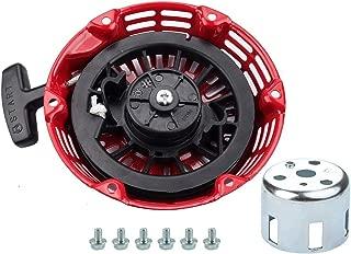 Dxent Recoil Starter for Honda GX120 Pull Starter GX160 GX200 4HP 5.5HP 6.5HP Engine 28400-ZE1-003ZF, 28400-ZH8-013YA