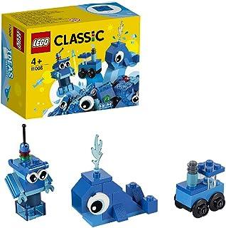 LEGO11006ClassicCreativeBlueBricksLearningStarterSet,PreschoolToysforKids4+YearOld
