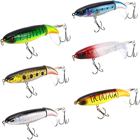 Boxed Topwater Fishing Lure 10cm 18g Pencil Popper Pesca Artificielle Professionnelle Wobblers pour La P/êche L-MEIQUN