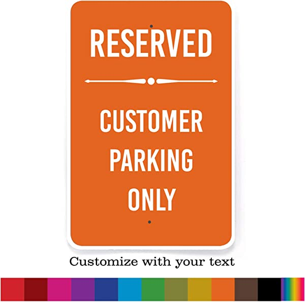 Buttonsmith Custom Metal Sign 6 X 9 Indoor Outdoor Personalize With Your Text Designed Printed And Assembled In USA