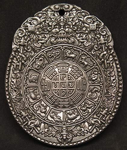 Shining Stones Gifts Meteorite Slice Pendant Iron-Nickel muonionalusta Seymchan, Gift, Amulet, Reiki