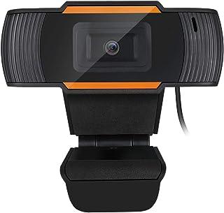 Adesso CyberTrack H2 Webcam - 3 Megapixel - 30 fps - USB 2.0-640 x 480 Video - CMOS Sensor - Auto-Focus - Built-in Microphone - Computer, Black