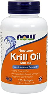 NOW® Neptune Krill Oil, 500 mg, 120 Softgels