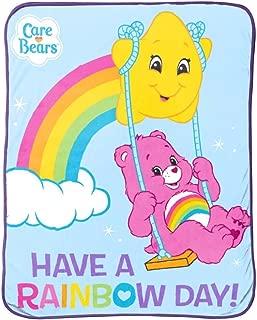 Care Bears Rainbow Day Plush Throw