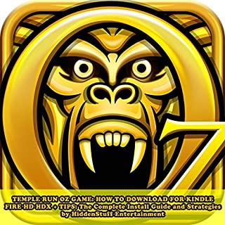 Temple Run Oz Game audiobook cover art