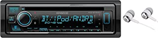 Kenwood Single DIN Bluetooth CD/AM/FM USB Auxiliary Input Car Stereo Receiver w/ Dual Phone Connection, Pandora/Spotify/iH... photo