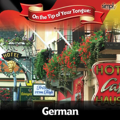 German on the Tip of Your Tongue audiobook cover art