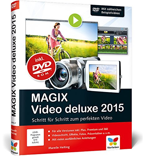 MAGIX Video deluxe 2015: Das Buch zur Software