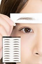 [ブライトララ] 眉シール アイブロウ 10セット タトゥーシール アートメイク まゆげ 眉毛 眉毛ステッカー muat01-B-S
