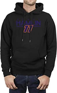 HDKASDAA Denny-Hamlin-#11- Hoodie Fleece Adult Shirt Jacket Sweatshirt for Men Hooded