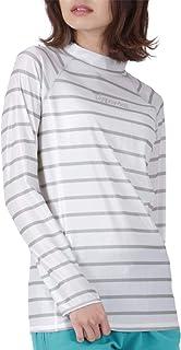 ICEPARDAL(アイスパーダル) ラッシュガード レディース 長袖 Tシャツ 全11色 フィットタイプ UVカット98%以上 UPF50+ 水着 スイムウェア IR-7450
