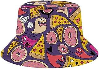 JHGFG Sombreros de Cubo de Viaje Gorra de Sol de ala Ancha Gorra Boonie Sombrero de Camionero para Acampar Deportivo