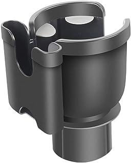 libelyef Auto Becherhalter Erweiterungsadapter, 2 in 1 Multifunktions Halterungs Verlängerung fürs Auto, Handy Ständer mit 360 ° drehbarer, verstellbarer Basis