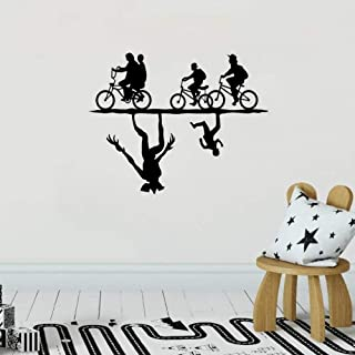 Removable Vinyl Mural Decal Quotes Art Stranger Things Sticker Stranger Things Decal Strange Things Upside Down for Bedroom Living Room