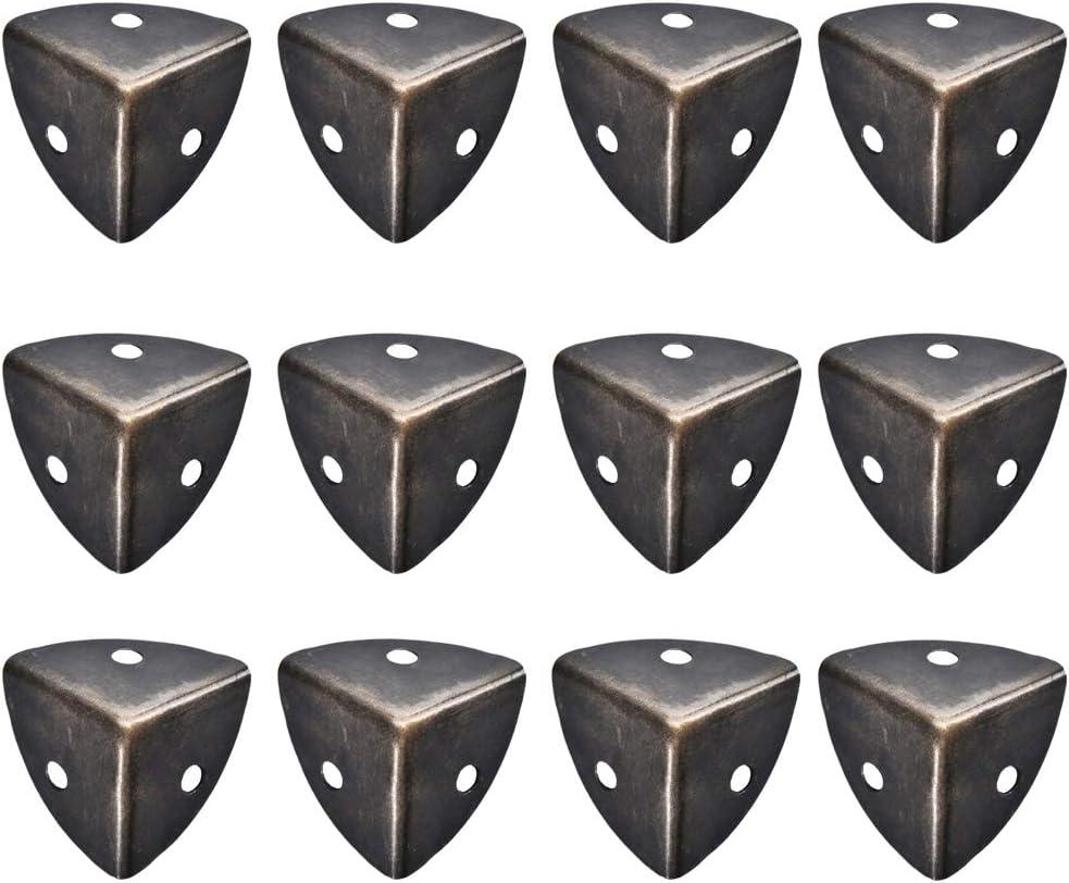LAVIANA 12PCS Ranking Inexpensive TOP7 Metal Box Corner Vintage Protector Hardware Brass