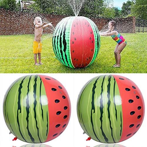 Vividy Summer Fun Garden Spray Ball Beach Children Inflatable Sprinkler Toys Beach Toys