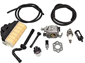 HIPA Carburetor with Repower Kit Air Filter Fuel Line Primer Bulb for STIHL 021 023 025 MS210 MS230 MS250 Easy Start Version Chainsaw