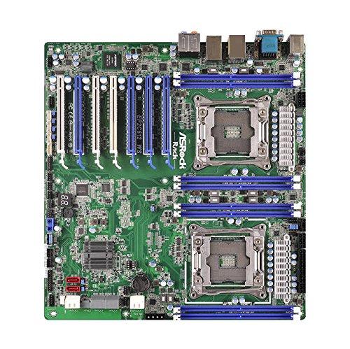 Asrock Mainboards Server-/Workstation-Motherboard LGA 2011-v3 Intel® C612 SSI EEB - Server-/Workstation-Motherboards (Intel, LGA 2011-v3, DDR4-SDRAM, 1600,1866,2133 MHz, Quad, 4GB,8GB,16GB,32GB)