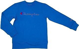 Champion ?#34892;?#27454; Heritage 儿童抓绒 Script 套头运动衫