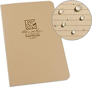 waterproof notebook army