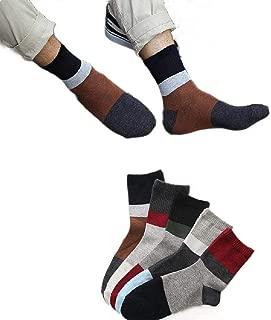 Mogogo Men's Outdoor Hiking/Trekking/Ski Light Back Cotton 10-Pack Socks