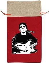 Lou Reed Christmas Bag Santa Sacks for Gift 100% Polyester 23