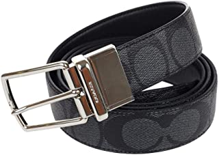 COACH MPLQ LEATHER CUT TO SIZE REVERSIBLE BELT W/GIFT BOX