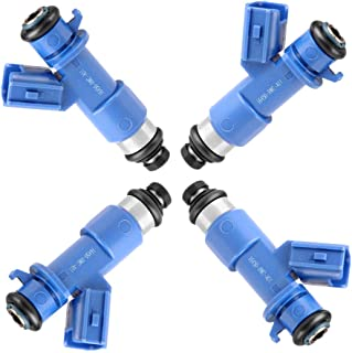 OCPTY 4pcs 12 Holes Replacement Fuel Injectors Engine Part fit for 1990-2001 Acura Integra 1996 1997 1998 1999 2000 2002 2003 2004 2005 Honda Civic 2002-2006 Acura RSX